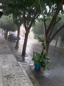 chuva alcantaras